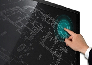 Brilliant Touch Screen with Infrared Technology