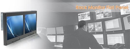Rackmount LCD Flat Panel Monitor